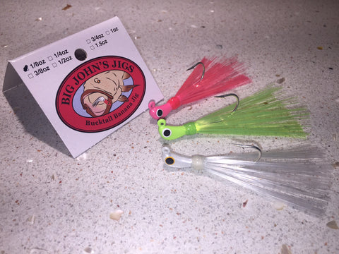 1/8oz Bucktail Jig