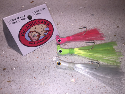 1/4oz Bucktail Jig