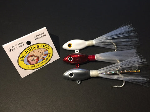 2oz Hard Head Leadhead Jig