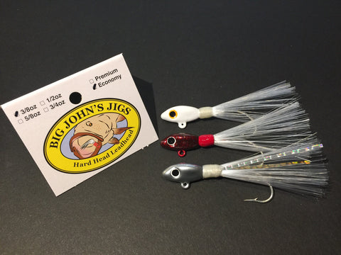 3/8oz Hard Head Leadhead Jig