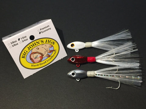 1/2oz Hard Head Leadhead Jig