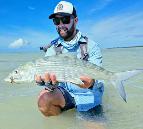 Bonefish spin tackle