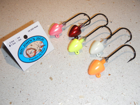 1.5oz Pagratus Jig Head (Owner 7/0 XXX hook)