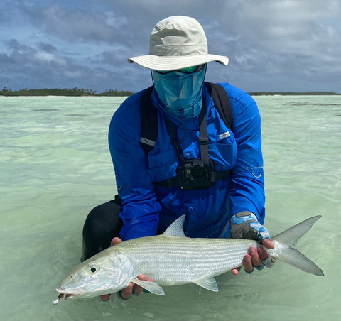 Bonefish on flig