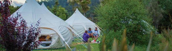 A Lotus Belle Glamping adventure with Kiwi Experience