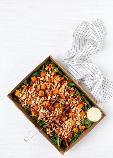 Spinach & Sweet Potato Salad