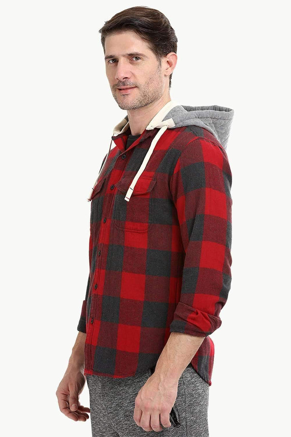 Men's Lumberjack Check Winter Shirt