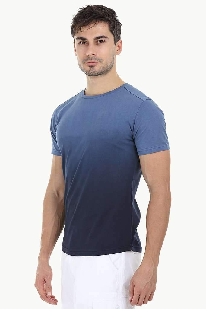 Casual Ombre Dyed T-Shirt