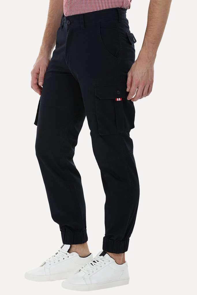 Twill Cuff Jogger Cargo Pants