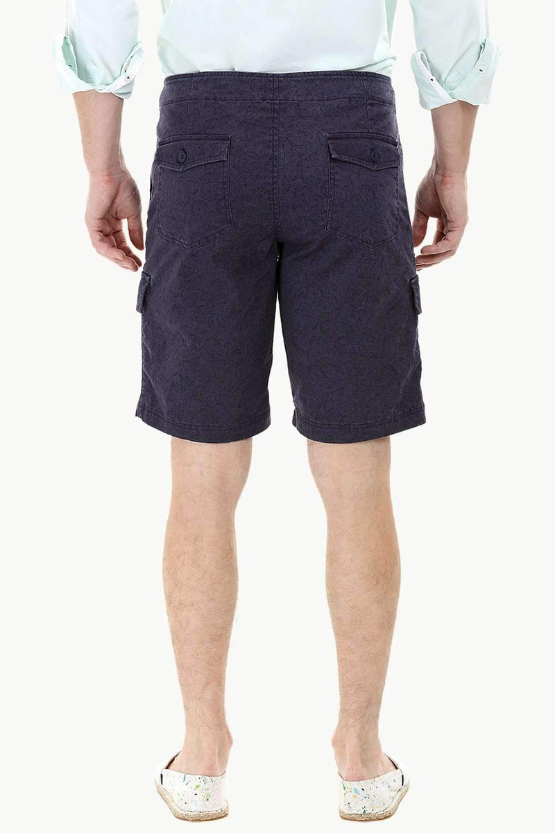 Light Printed Cargo Summer Shorts