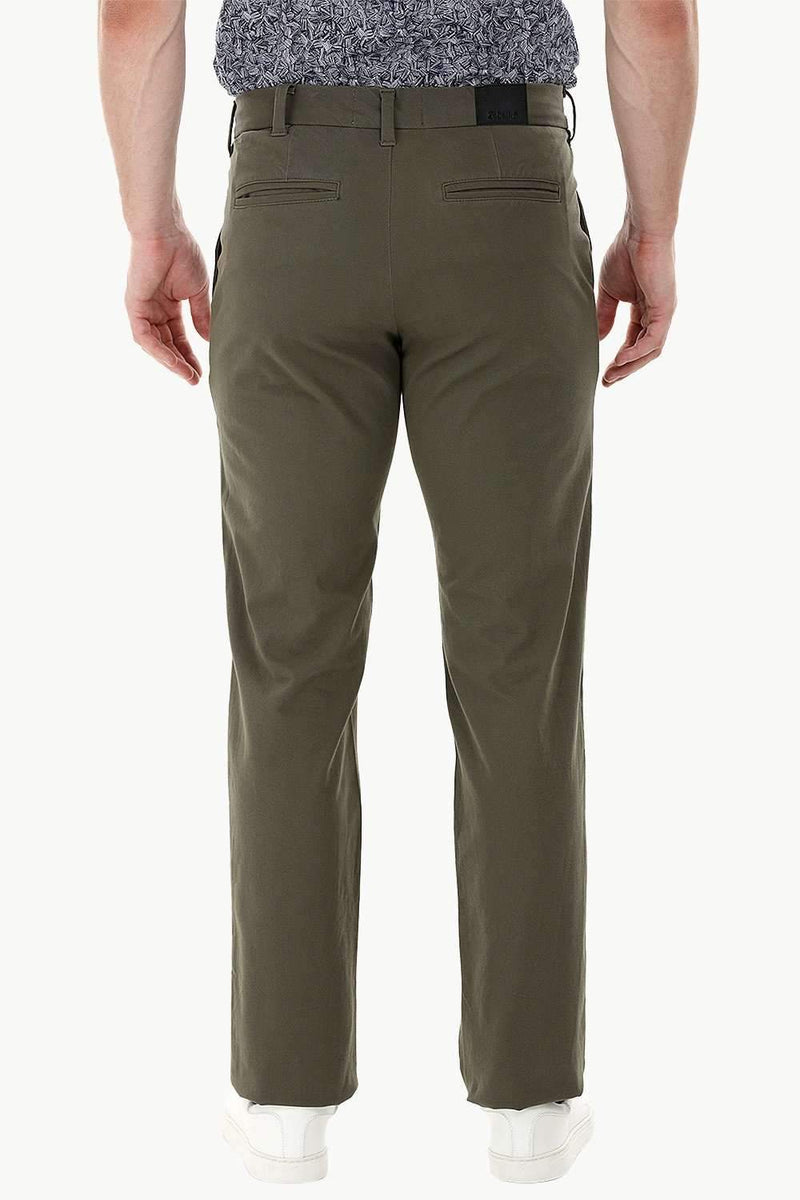 Olive Standard Fit Chino Pants