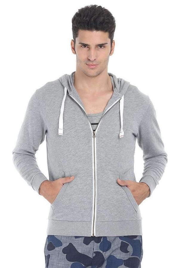 Full Zipper Fleece Hoodie