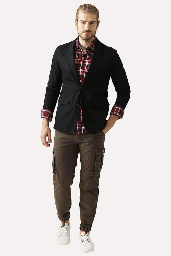Military Styled Casual Blazer