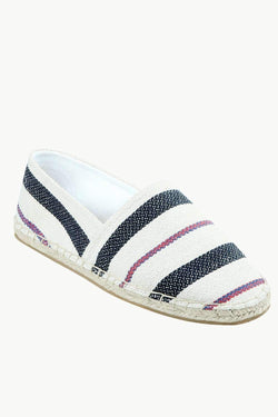 Men's Knit Jacquard Stripe Espadrilles