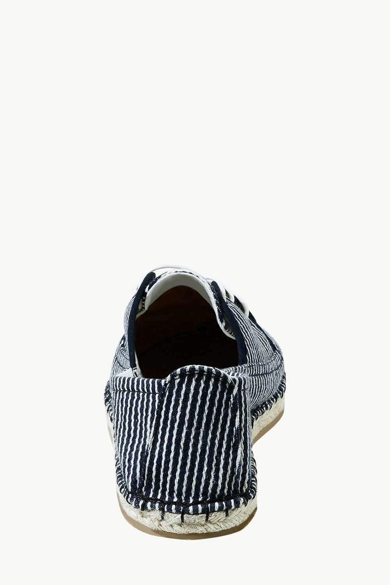 Men's Nautical Lace-up Canvas Espadrilles