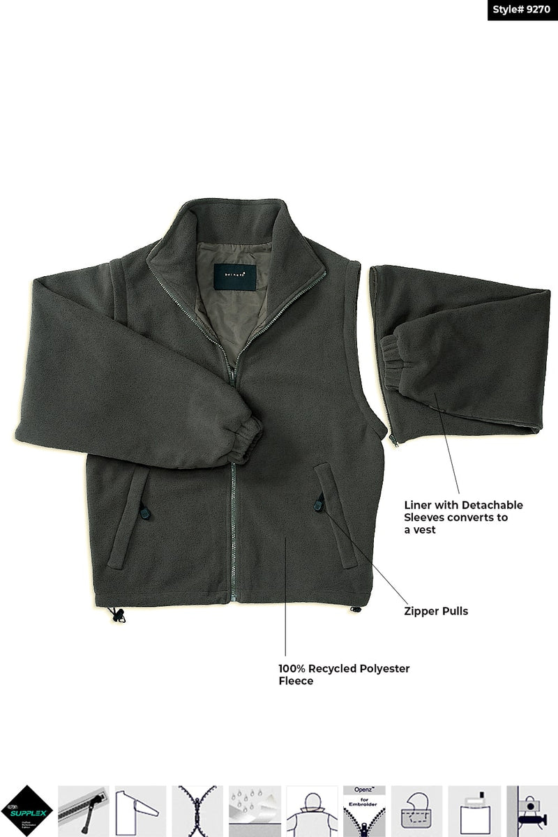 4-in-1 Mid Length Jacket