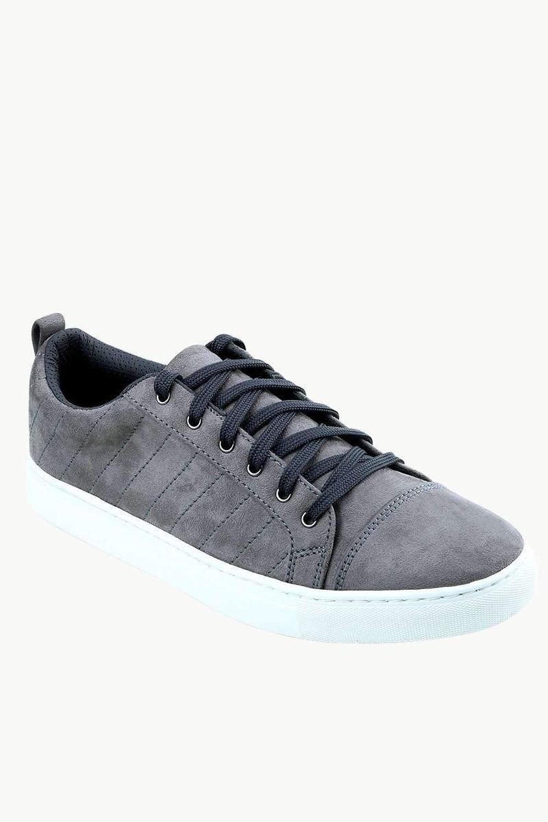 Men's Suede Grey Sneakers