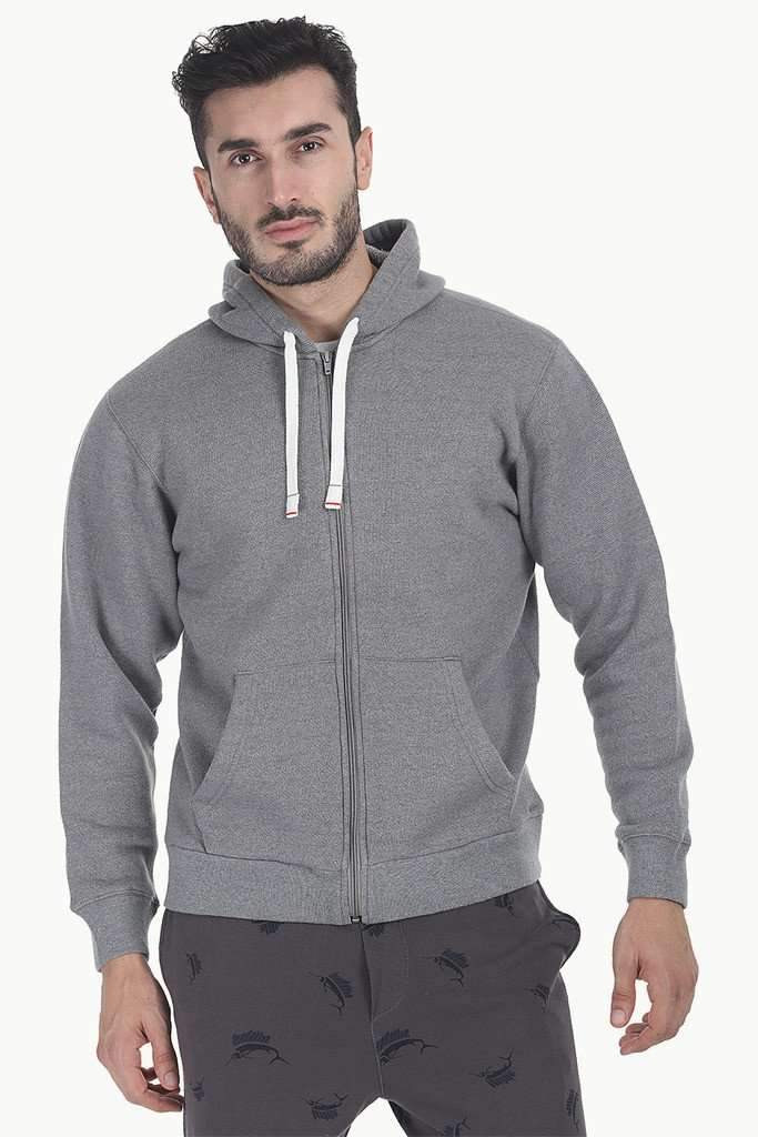 Solid Yarn Dyed Fleece Hoodie