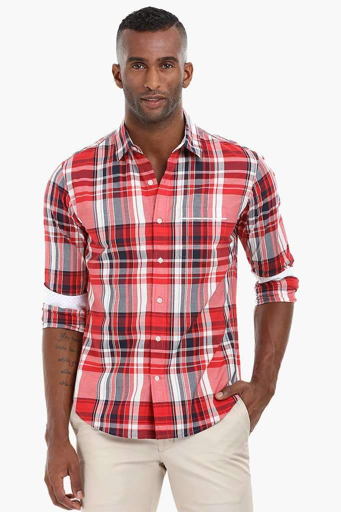Autumn Plaid Check Shirt