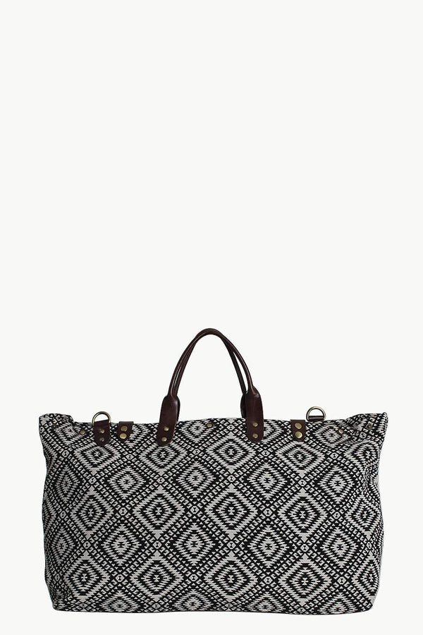 Aztec Weave Vintage Travellers Bag