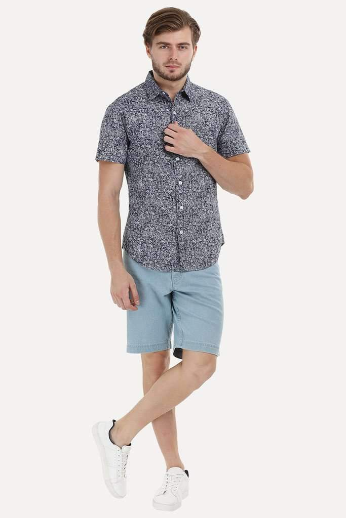 Basket Weave Pattern Shirt
