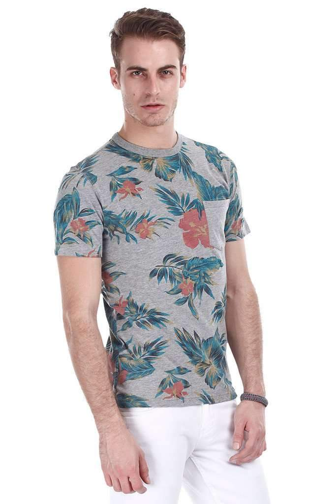 Beach Holiday Printed Short Sleeve Tee