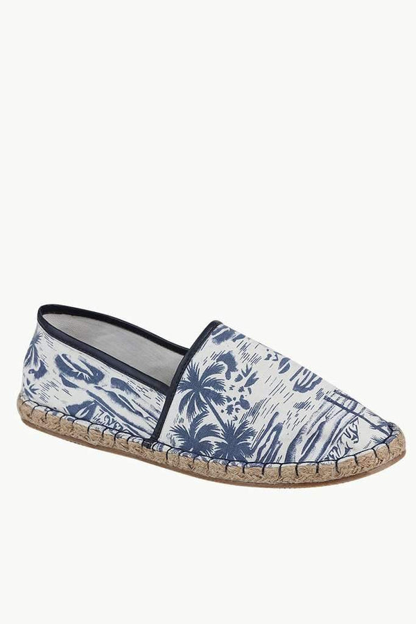 Beach Holiday Up Lined Espadrilles