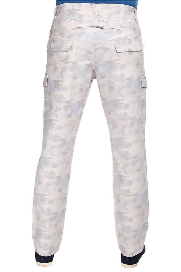 Camo Printed Cargo Twill Pant