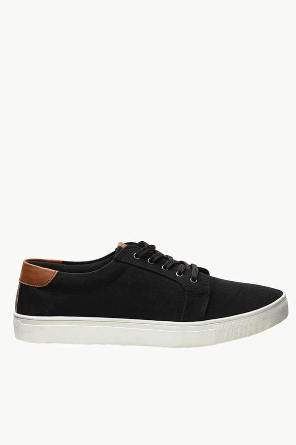 Canvas Lace Up Plimsolls