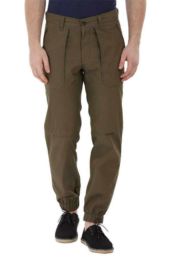 Cargo Cuff Jogger Olive Pants