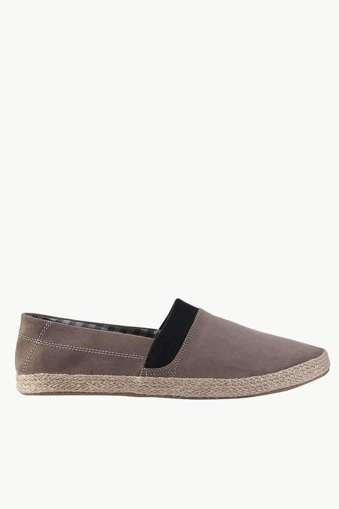 Casual Espadrilles with Contrast Stitching