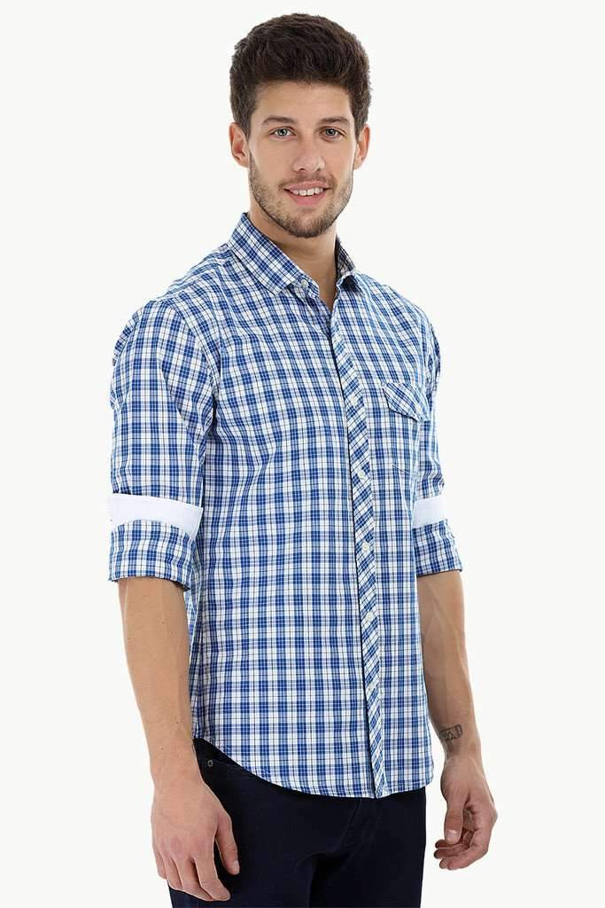 Casual Plaid Cotton Shirt