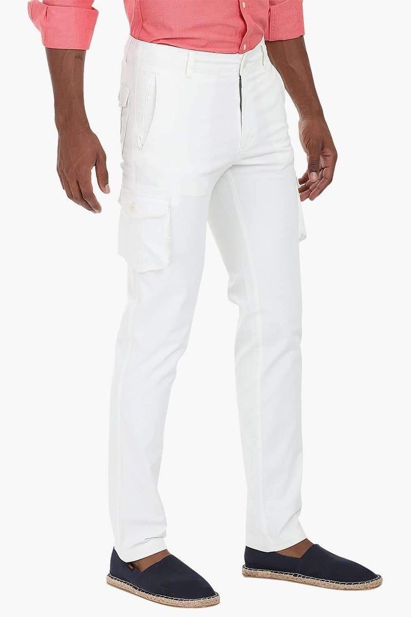 Casual Twill Cargo Pants