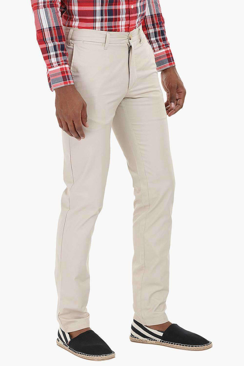 Casual Twill Chino Pants