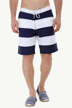 Colorblock Board Swim Shorts