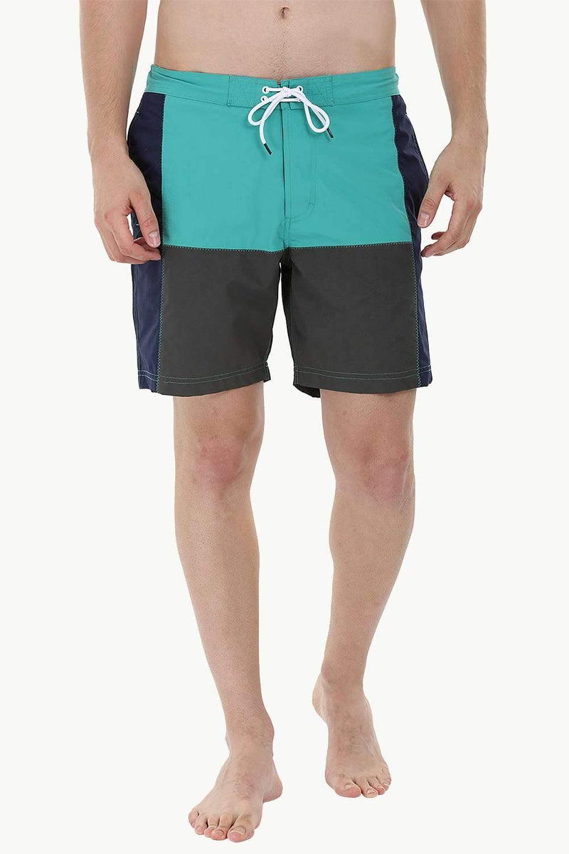 Solid Cut & Sew Swimshorts