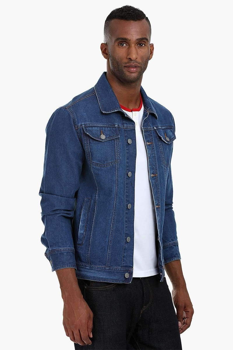 Contemporary Cowboy Indigo Denim Jacket