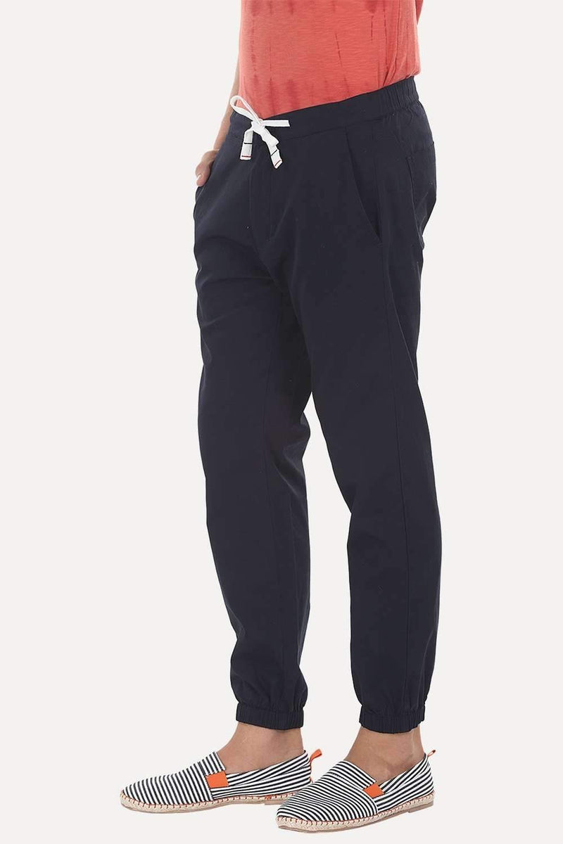 Cool Light Weight Twill Cuff Jogger Pants