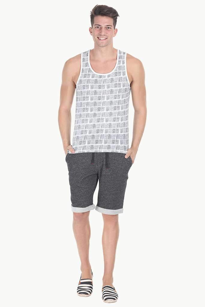 Cool Summer Printed Soft Knit Tank