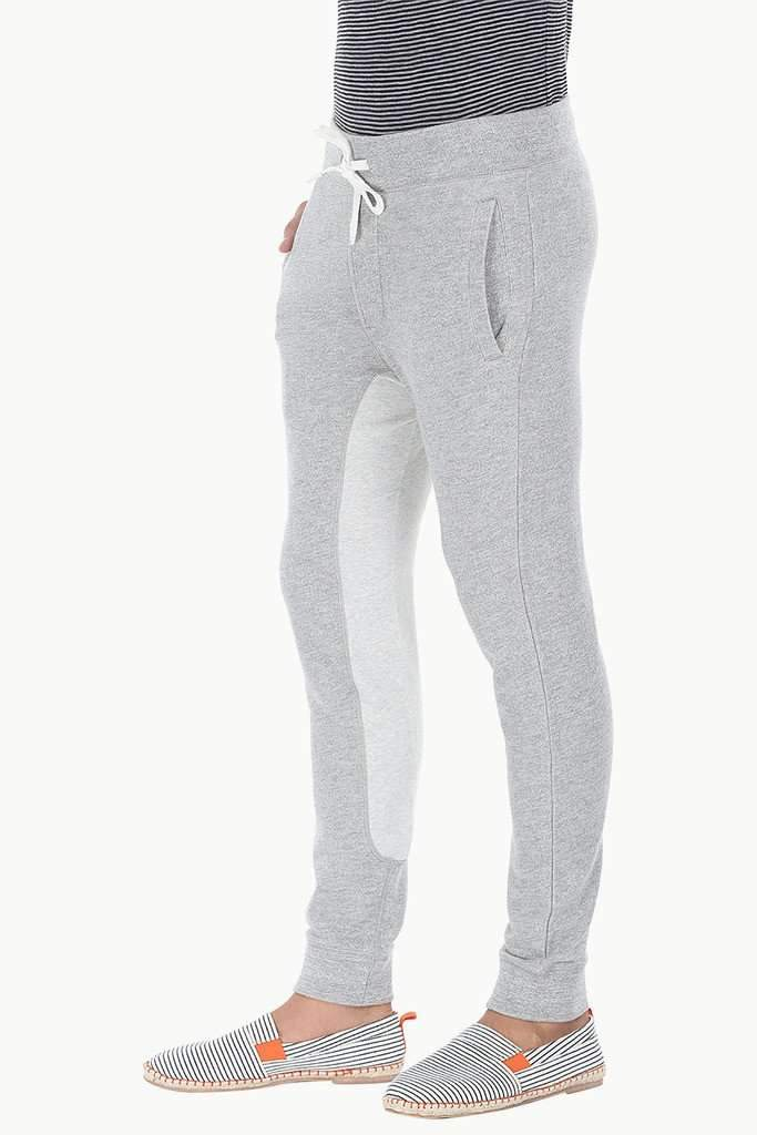 Cotton Heather Fleece Color block Pant