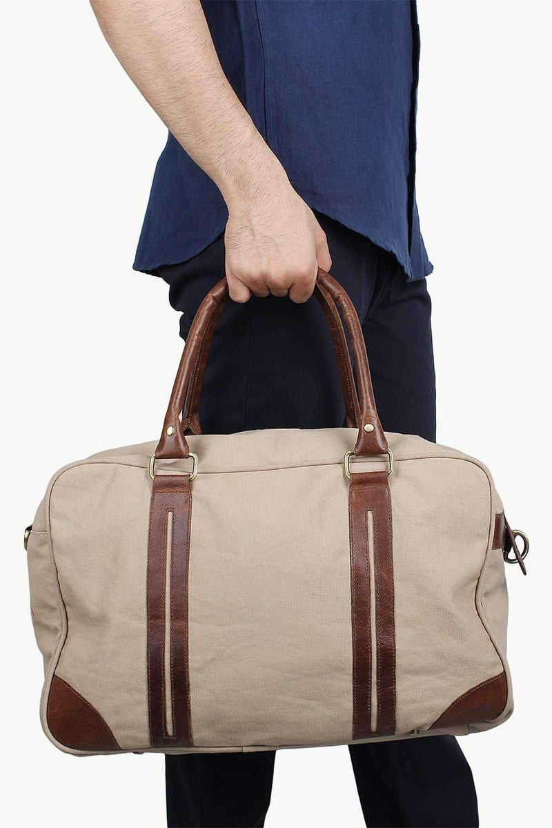 Dyed Canvas Travel Bag