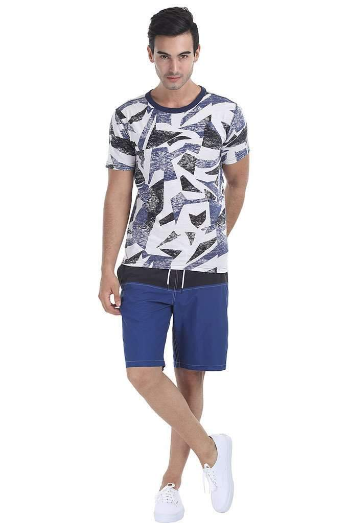 Easy Summer Printed Crew Neck Tee