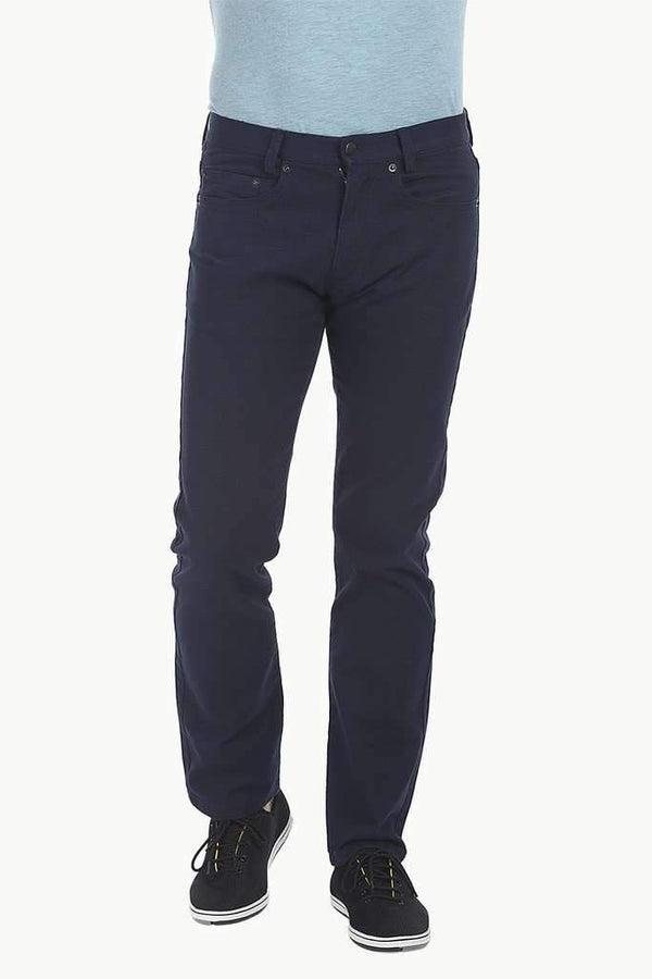 Enzyme Washed Cotton Twill Traveler Pant