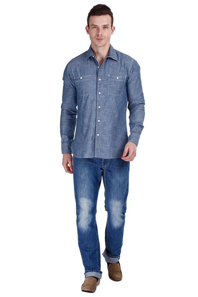 Factory Chambray Work Shirt