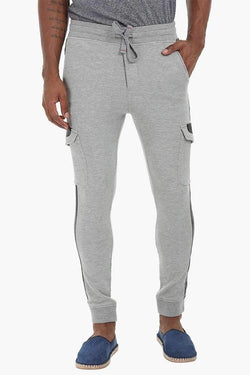 Faux Leather Detailed Sweatpants