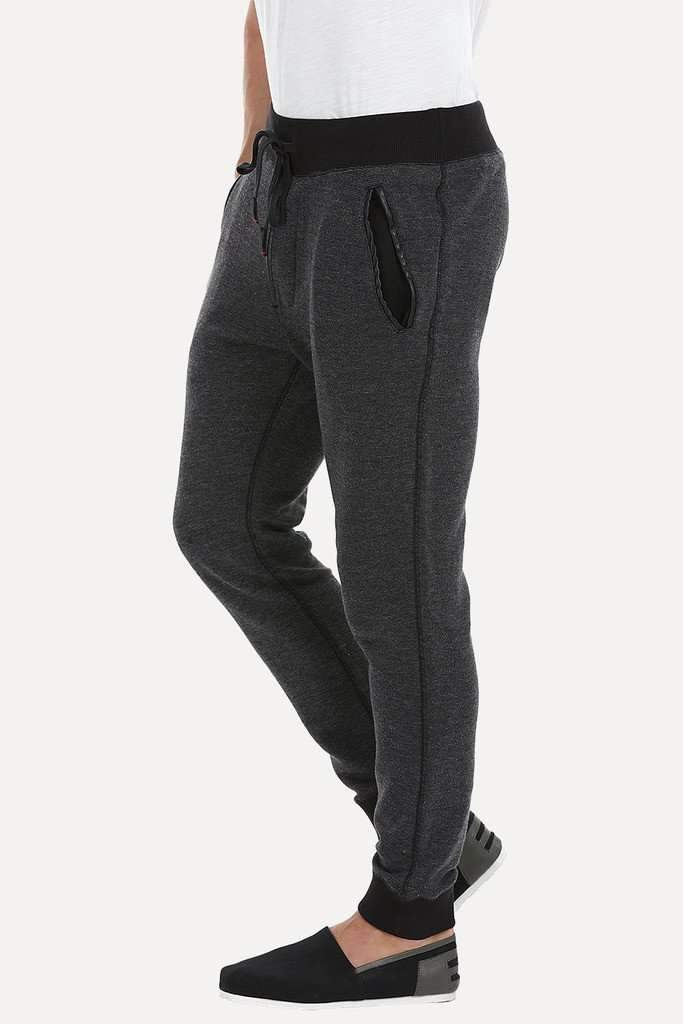 Fleece Poly Blend Cuff Jogger Pants