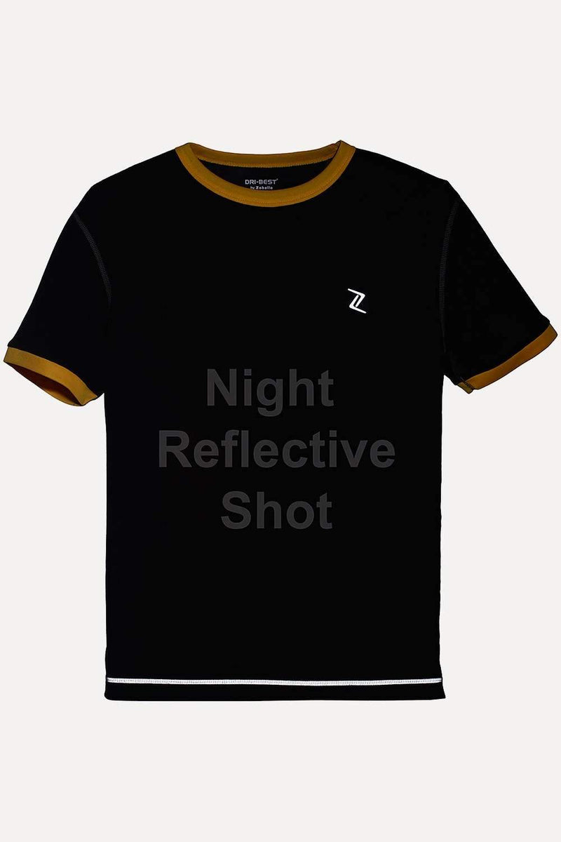 Performance Wear Tee With Sleeve Cuff