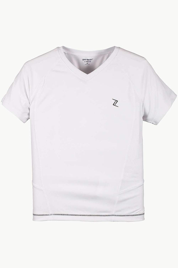 Performance Wear V Neck With Side Panel Stitch