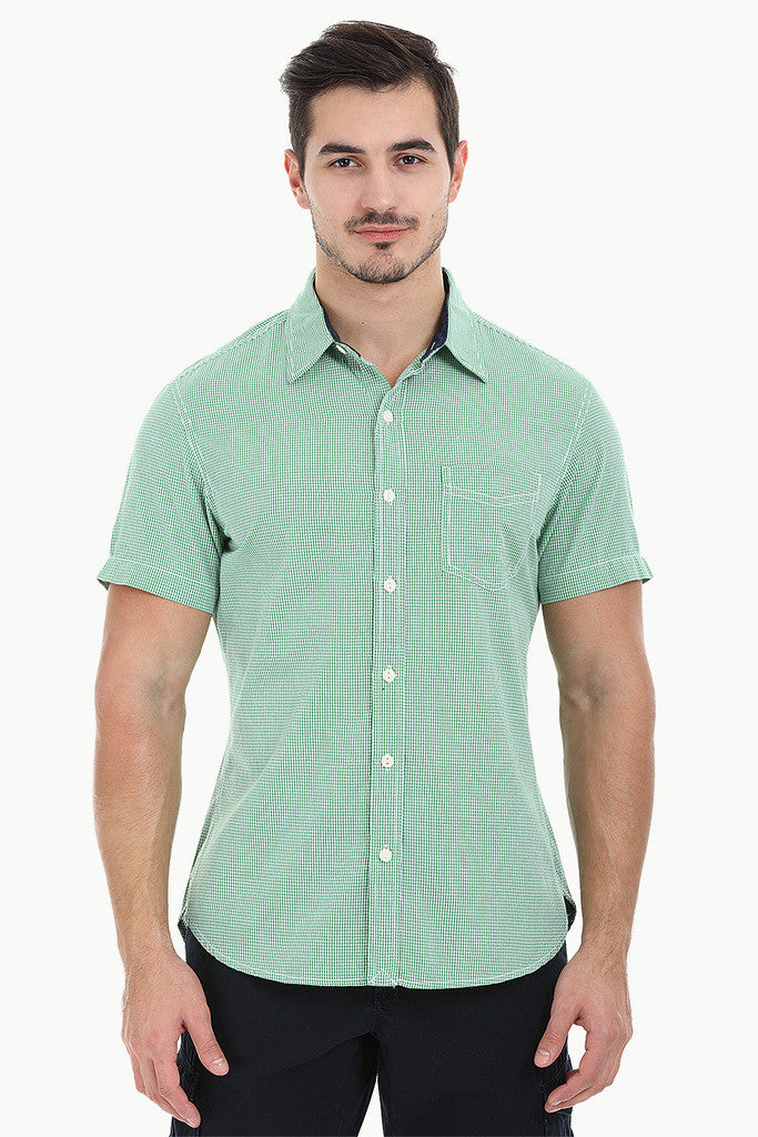 Ghingham Check Eqyptian Cotton Shirt