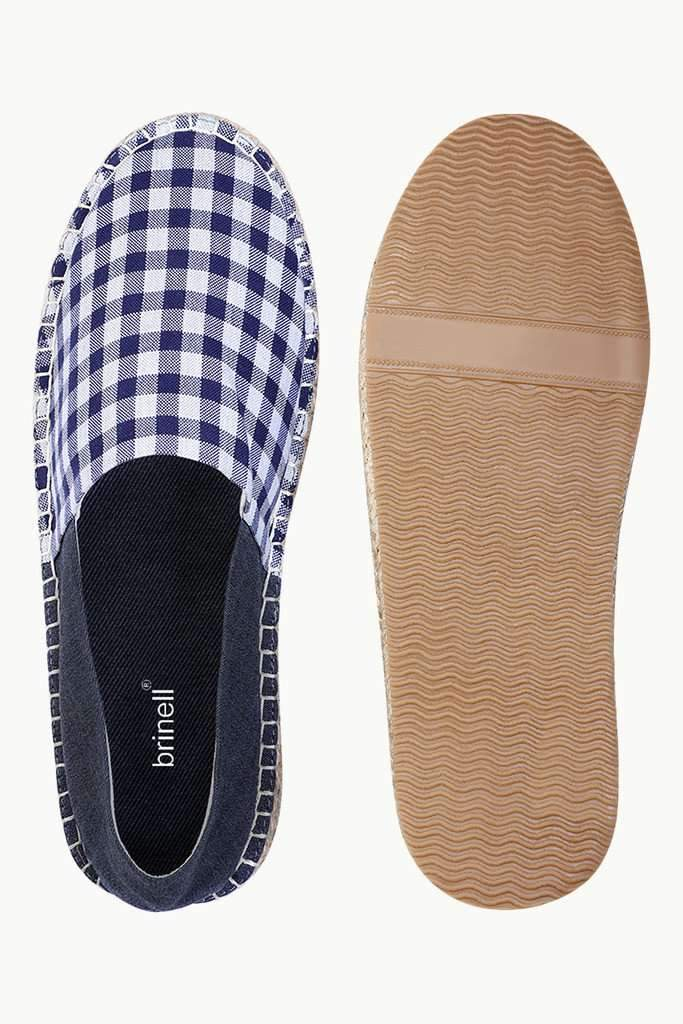 Checked Oxford Espadrilles